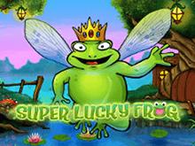 Играть Super Lucky Frog онлайн